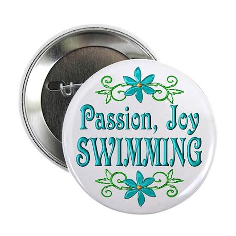 "Swimming Joy 2.25"" Button"