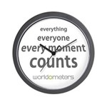 Every moment counts Wall Clock by Worldometers