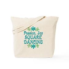Square Dancing Joy Tote Bag