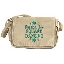 Square Dancing Joy Messenger Bag