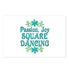 Square Dancing Joy Postcards (Package of 8)