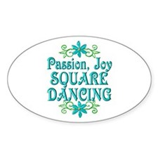 Square Dancing Joy Decal