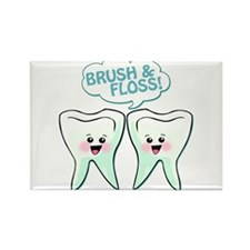 Dentist Dental Hygienist Humor Rectangle Magnet