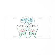 Dentist Dental Hygienist Humor Aluminum License Pl