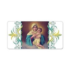 MTA - Our Lady of Schoensta Aluminum License Plate