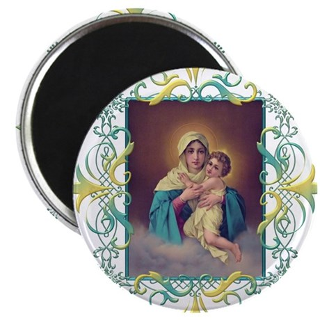 """MTA - Our Lady of Schoenst 2.25"""" Magnet (100 pack)"""