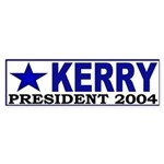 Kerry for President Bumper Sticker