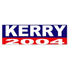 Kerry for President Bumper Bumper Sticker