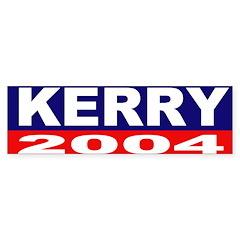 Kerry for President Bumper Bumper Sticker