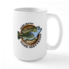 Large Size Matters Bass Fishing Mug