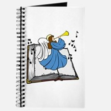 Angel and Book Journal