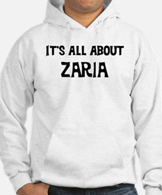 All about Zaria Hoodie Sweatshirt