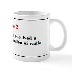 Mug: Guglielmo Marconi received a patent for his i