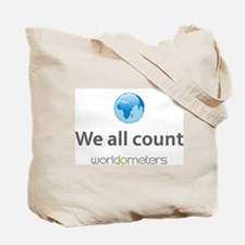 7 billion on planet earth. We all count Tote Bag