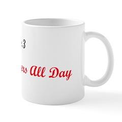 Mug: Love Conquers All Day