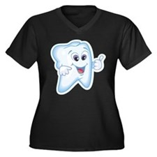 Great Job Dentists Dental Women's Plus Size V-Neck