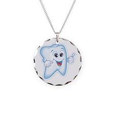 Great Job Dentists Dental Necklace Circle Charm