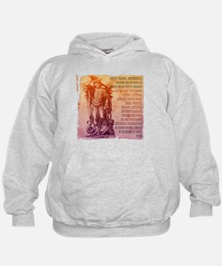 St. Michael Prayer in Latin Hoody