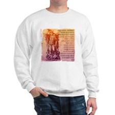 St. Michael Prayer in Latin Sweatshirt
