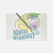 Cute Dental Hygienists Rectangle Magnet