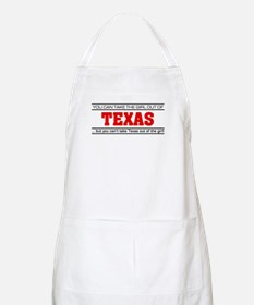 'Girl From Texas' Apron