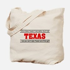 'Girl From Texas' Tote Bag