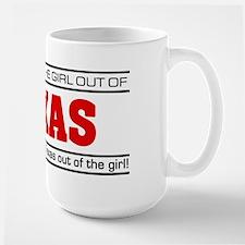 'Girl From Texas' Large Mug
