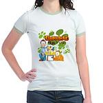 Garfield & Cie Logo Jr. Ringer T-Shirt