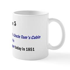 Mug: Harriet Beecher Stowe's Uncle Tom's Cabin sta