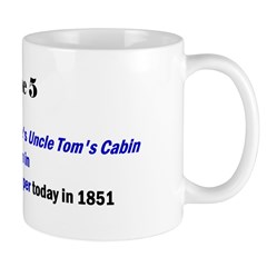 Mug: Harriet Beecher Stowe's Uncle Tom's Cabin sta