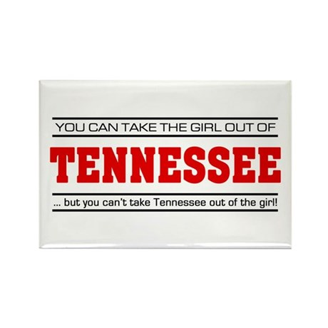 'Girl From Tennessee' Rectangle Magnet