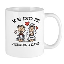 Funny Just Married (Add Wedding Date) Mug