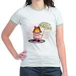 I'm Adorable Jr. Ringer T-Shirt