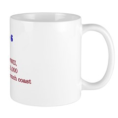 Mug: Battle of Normandy, WWII, with the landing of