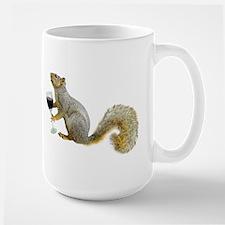 Squirrel with Wine Mug