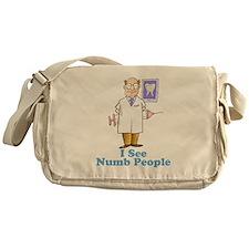 Funny Dentist Numb People Messenger Bag