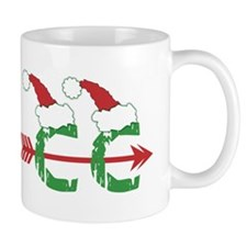 Cross Country Christmas Mug (right)