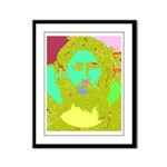 Pastel Jesus Framed Panel Print