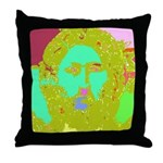Pastel Jesus Throw Pillow