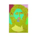 Pastel Jesus Rectangle Magnet