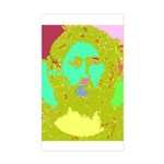 Pastel Jesus Rectangle Sticker