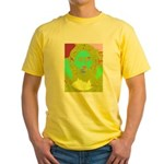 Pastel Jesus Yellow T-Shirt