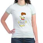 Odie Will Eat Homework Jr. Ringer T-Shirt