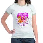 You and Me... Jr. Ringer T-Shirt