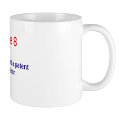 Mug: Herman Hollerith received a patent for his pu