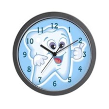 Cute Dentist Dental Hygienist Wall Clock