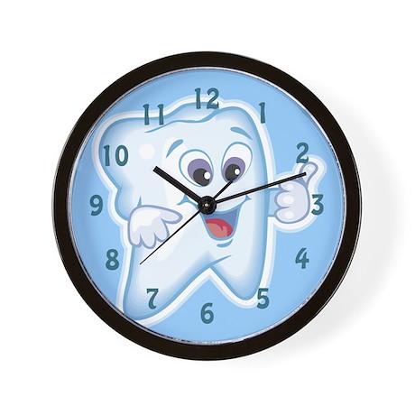 Cute Dentist Dental Hygienist Wall Clock
