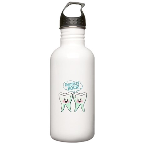 Funny Dentists Rock Stainless Water Bottle 1.0L