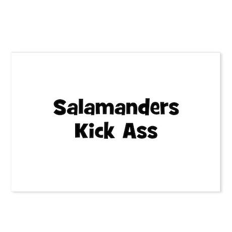 Salamanders Kick Ass Postcards (Package of 8)