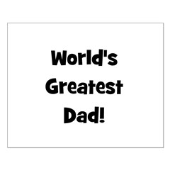 World's Greatest Dad! Posters